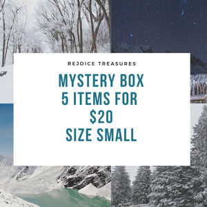 Mystery Box Size Small 5 items